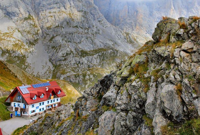 Die Marinelli Hütte