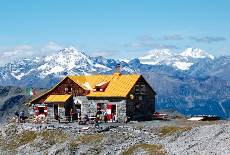 Die Quinto-Alpini-Hütte