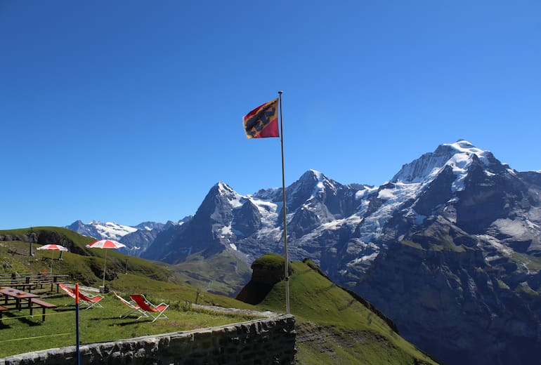 Foto Schilthornhütte