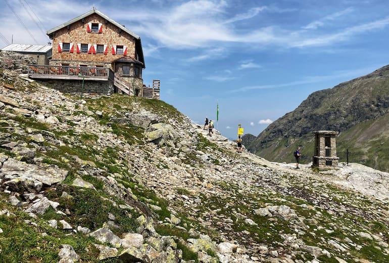 St. Pöltner Hütte im Nationalpark Hohe Tauern