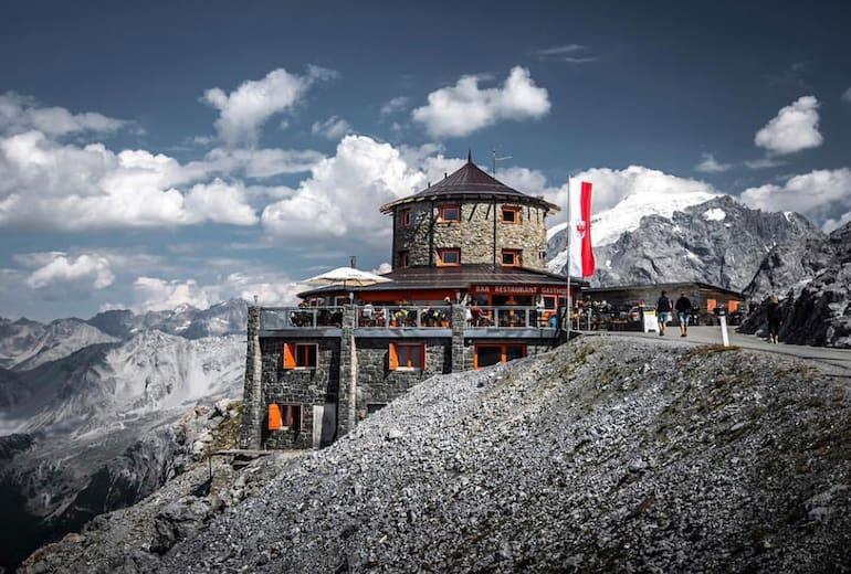 Die Tibet Hütte am Stilfser Joch