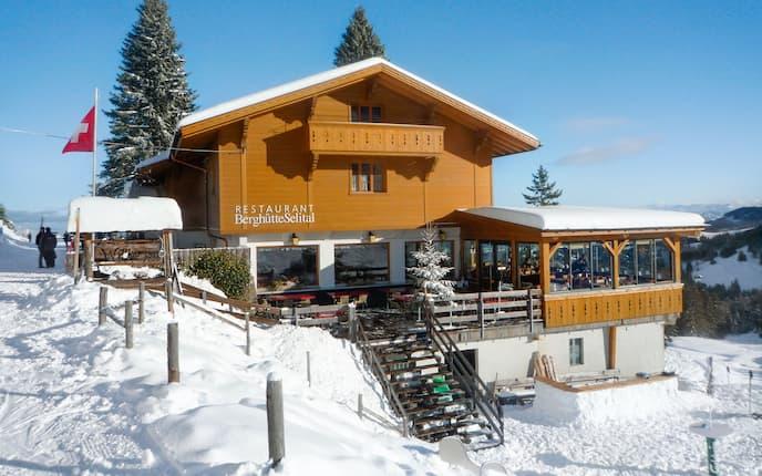 Berghütte Selital