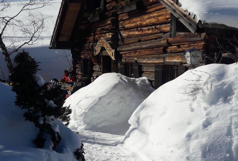 Wieslerhütte auf der Postalm