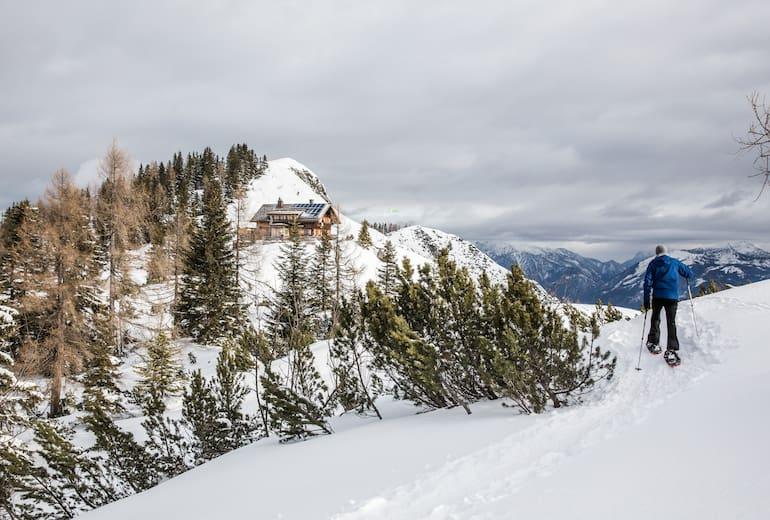 Die Goiserer Hütte