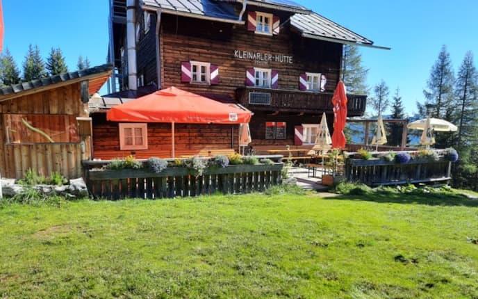 Die Kleinarler Hütte