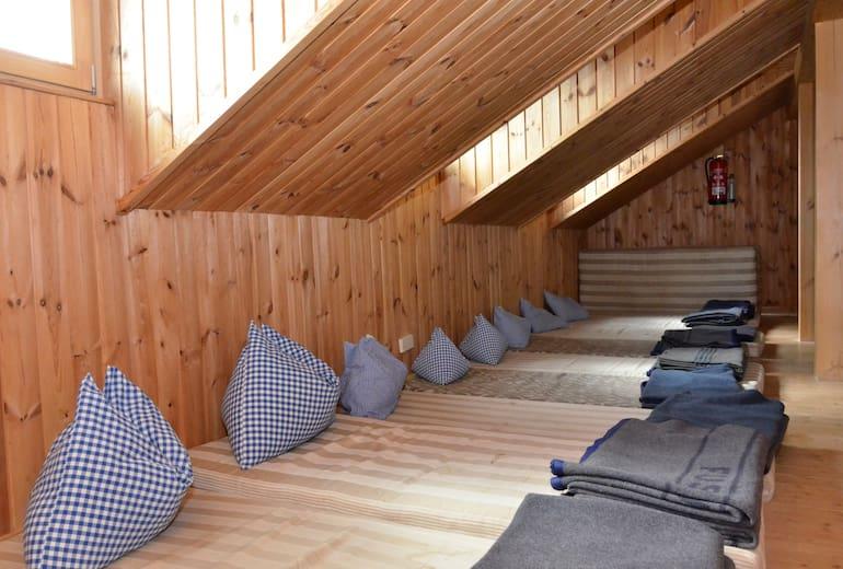 Lager in der Kürsinger Hütte