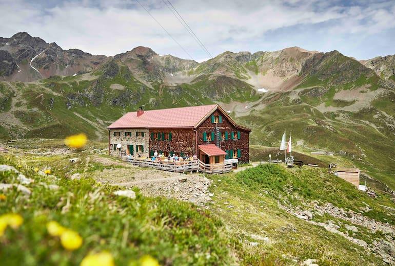 Die Niederelbehütte im Paznaun
