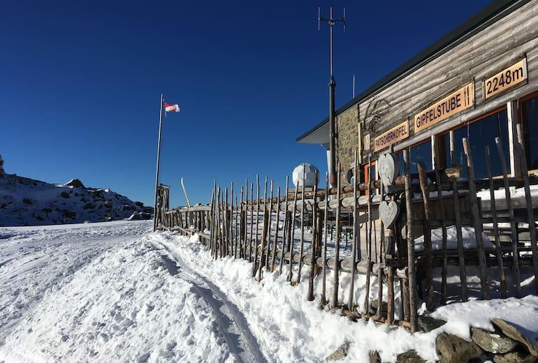 Patscherkofel Gipfelstube