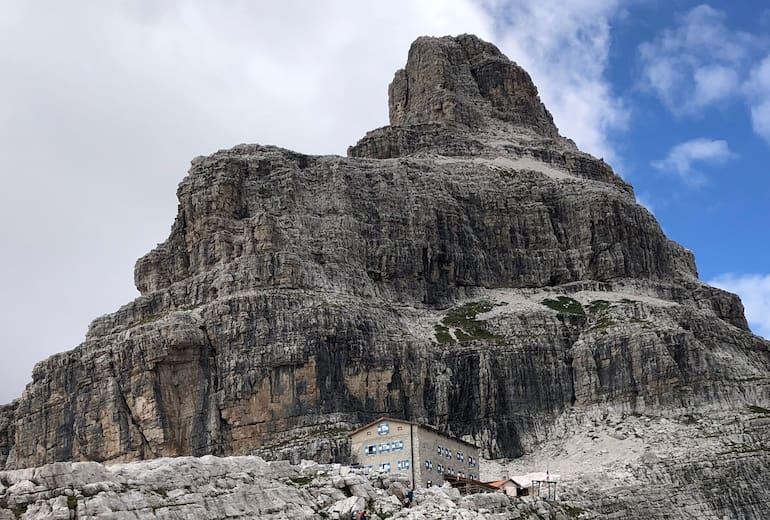 Das Rifugio Pedrotti