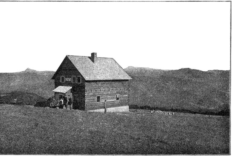 Reisalpenschutzhaus, historisches Foto