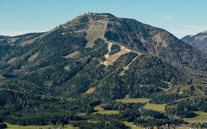 Terzerhaus am Gipfel der Gemeindealpe