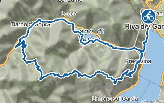 mountainbike karte gardasee Mountainbiken am Gardasee: 6 Touren Klassiker | Bergwelten