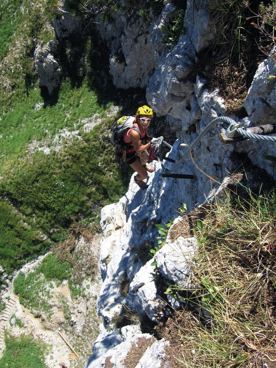 Klettersteig Johann Topo : Klettersteige klamml klettersteig km bergwelten