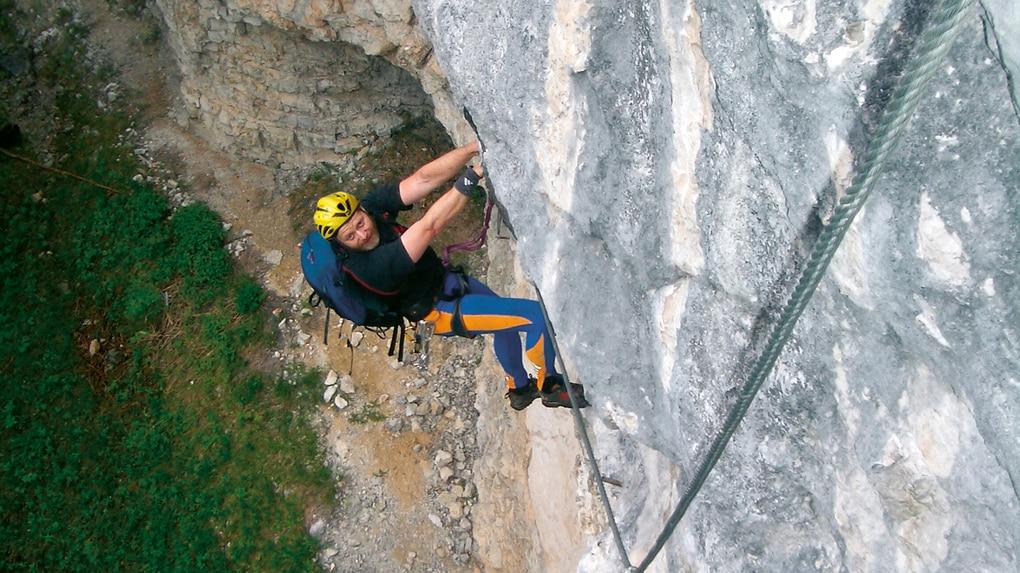 Klettersteig Postalmklamm : Klettersteige: postalmklamm klettersteig d e variante f 0km