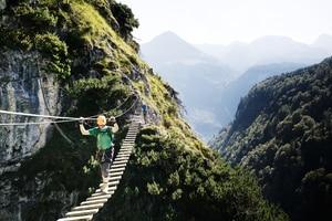 Klettersteig Norddeutschland : 20 x klettersteige: deutschland bergwelten
