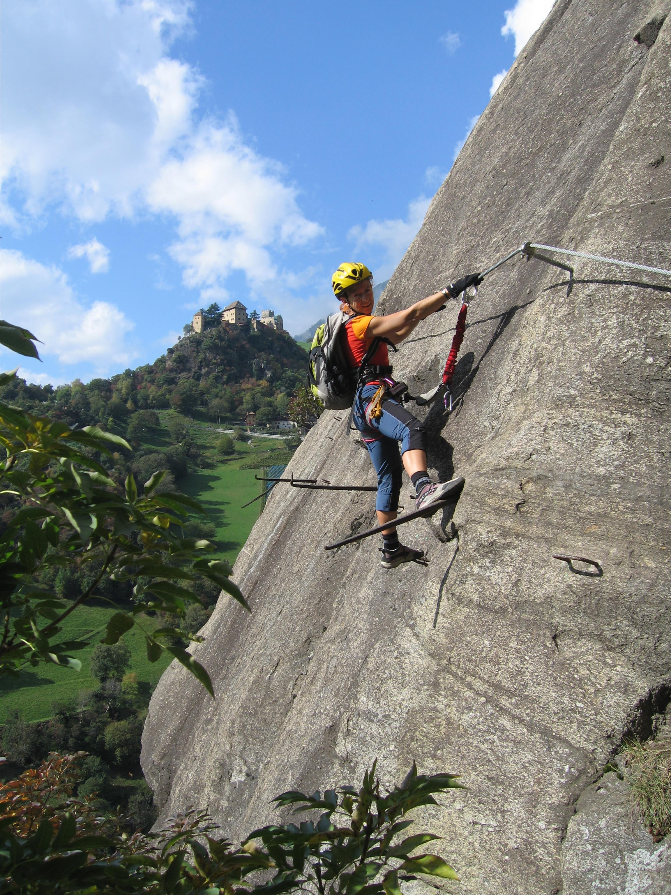 Klettersteig Bandschlinge : Klettersteige hoachwool km bergwelten