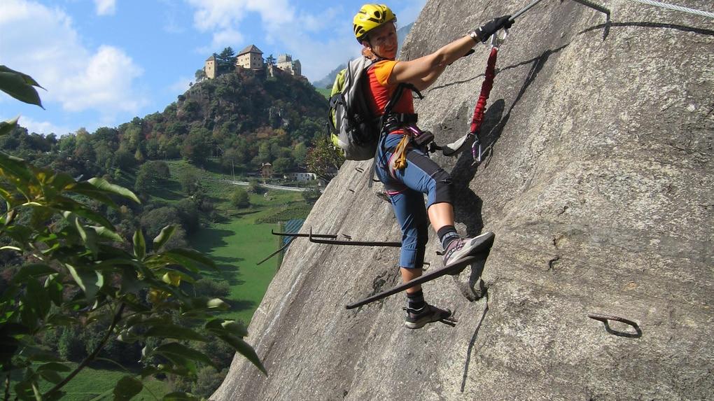 Klettersteig Naturns : Klettersteige: hoachwool 3km bergwelten