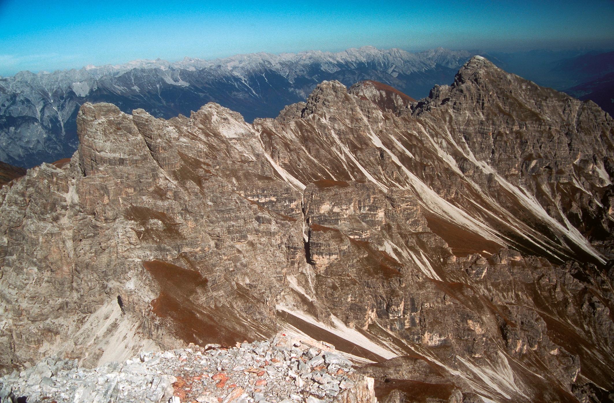 Klettersteig Innsbruck : Klettersteige innsbrucker klettersteig km bergwelten