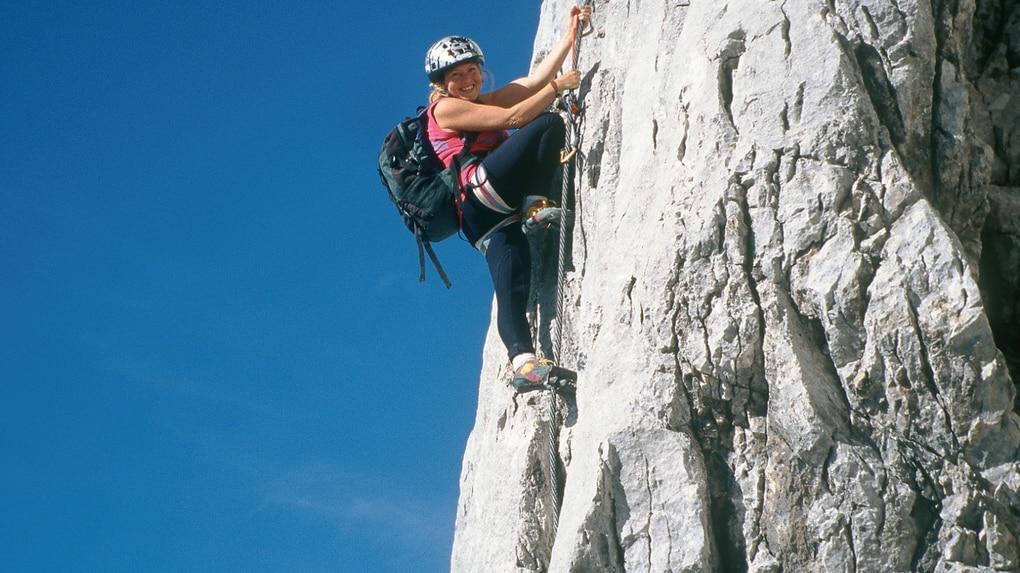 Klettersteig Johann Dachstein : Klettersteige: johann klettersteig 10km bergwelten