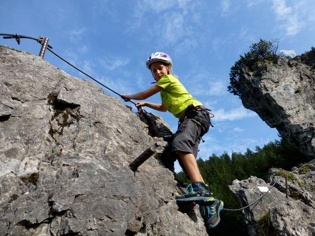 Klettersteig Kinder : Klettersteige kinderklettersteig kali und jugendklettersteig kala