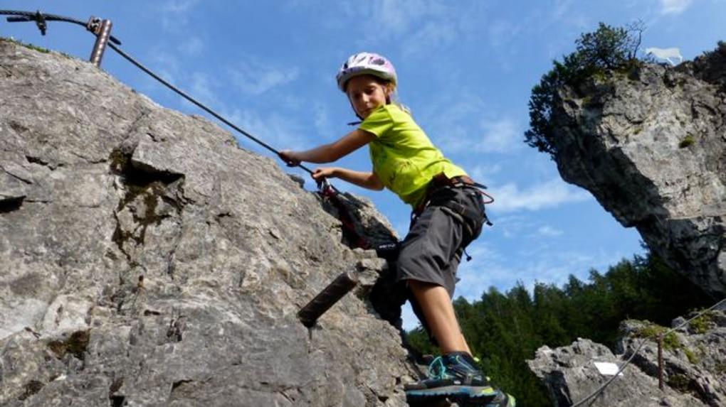 Klettersteig Ramsau : Klettersteige: kinderklettersteig kali und jugendklettersteig kala