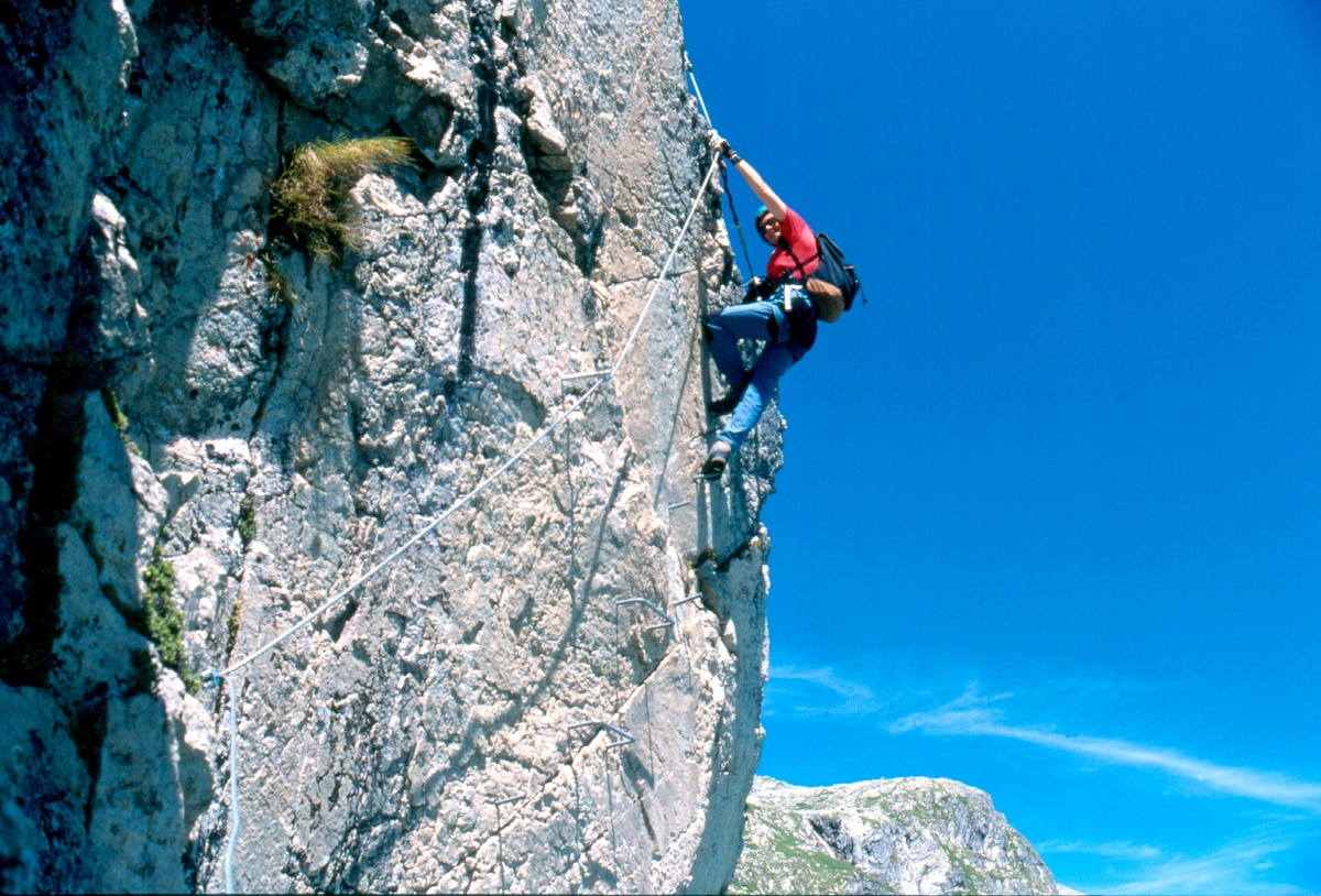 Klettersteig Zell Am See : Klettersteige: kristall klettersteig 4km bergwelten