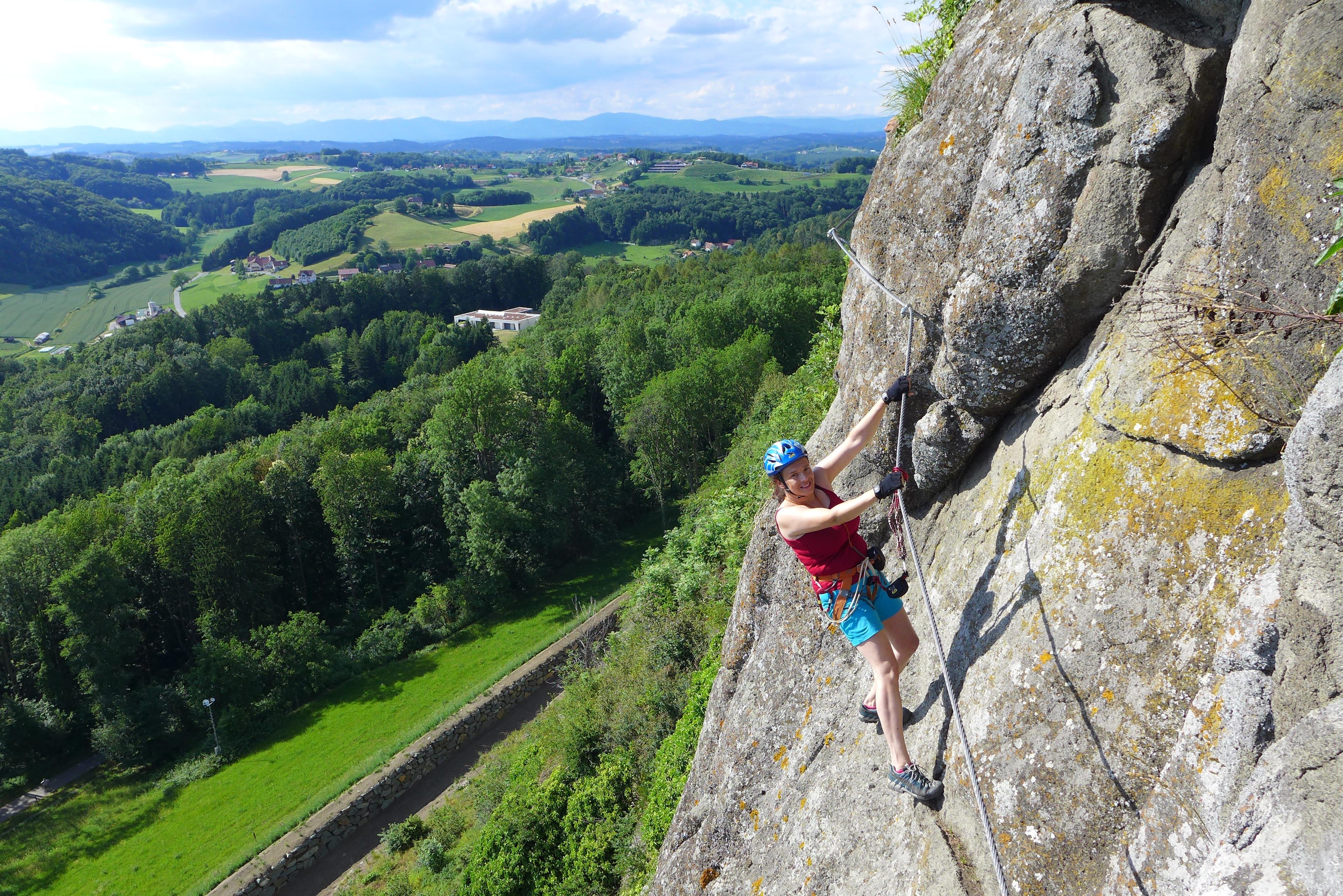 Klettersteig Riegersburg : Klettersteige leopold und heinrich klettersteig km bergwelten