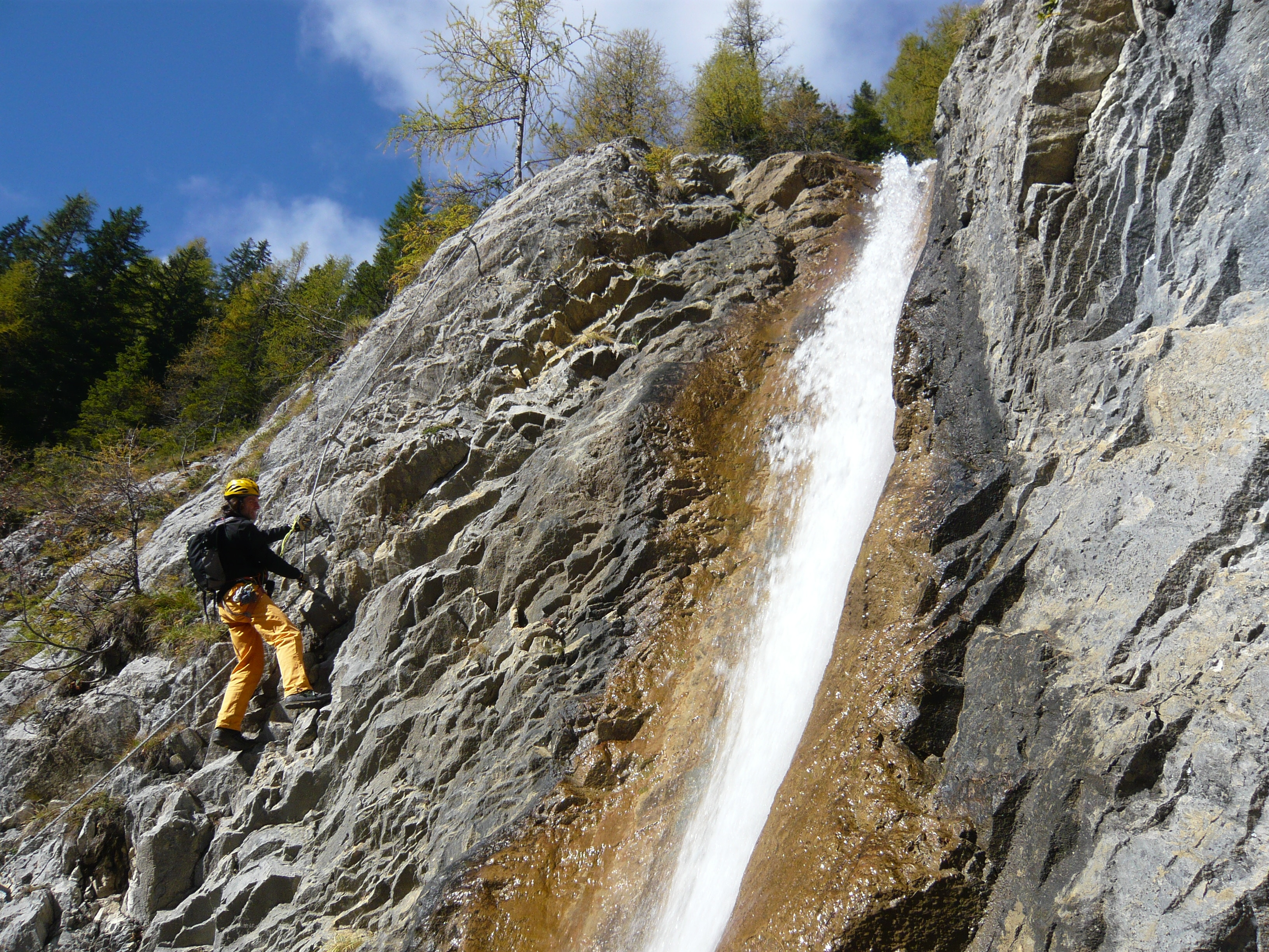 Klettersteig Verborgene Welt : Klettersteige: verborgene welt 0km bergwelten