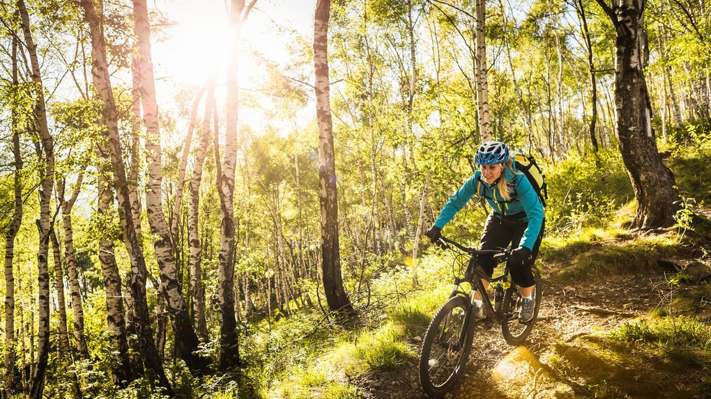 Symbolfoto Mountainbiken