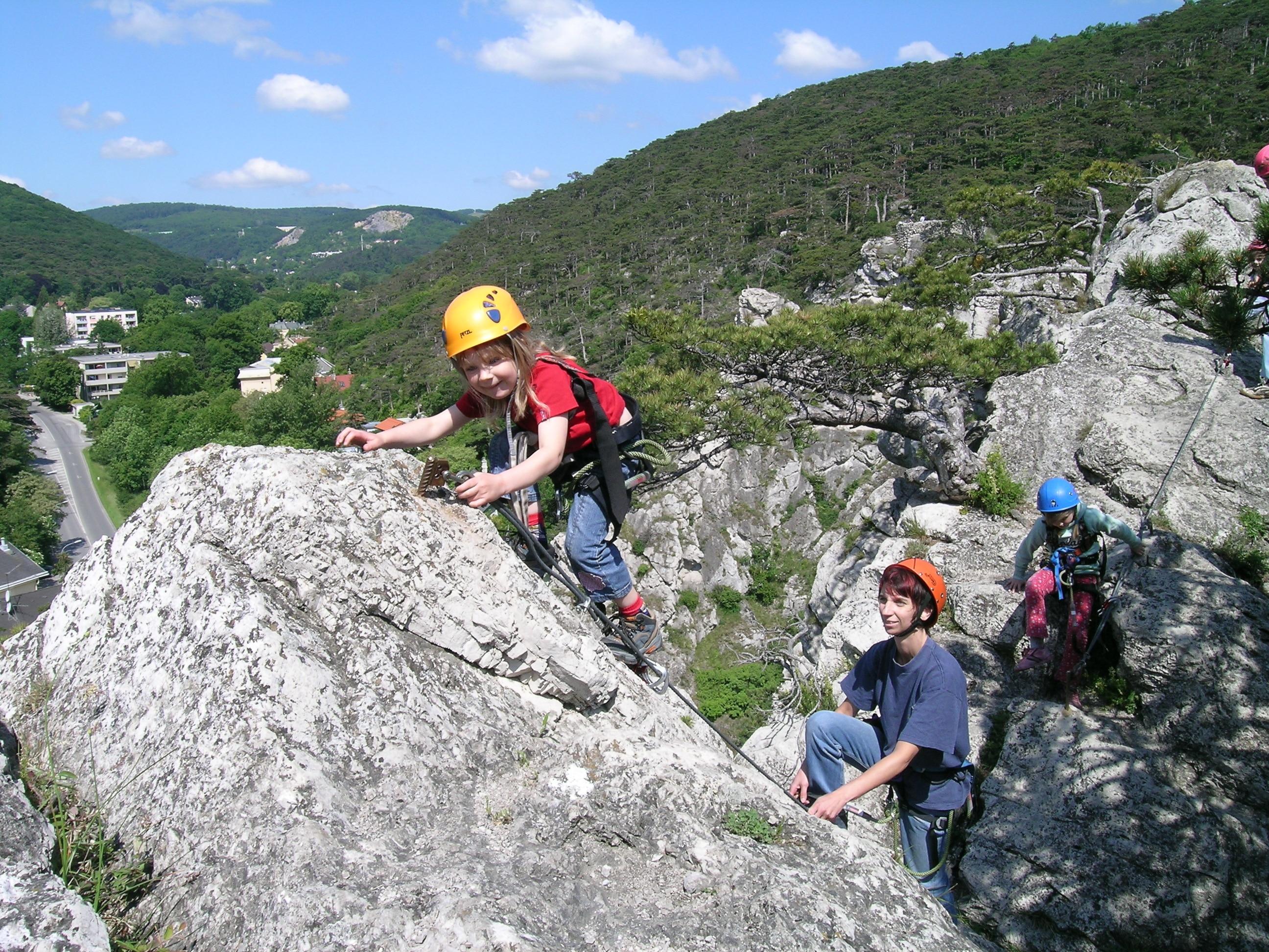 Mödlinger Klettersteig : Klettersteige mödlinger klettersteig km bergwelten