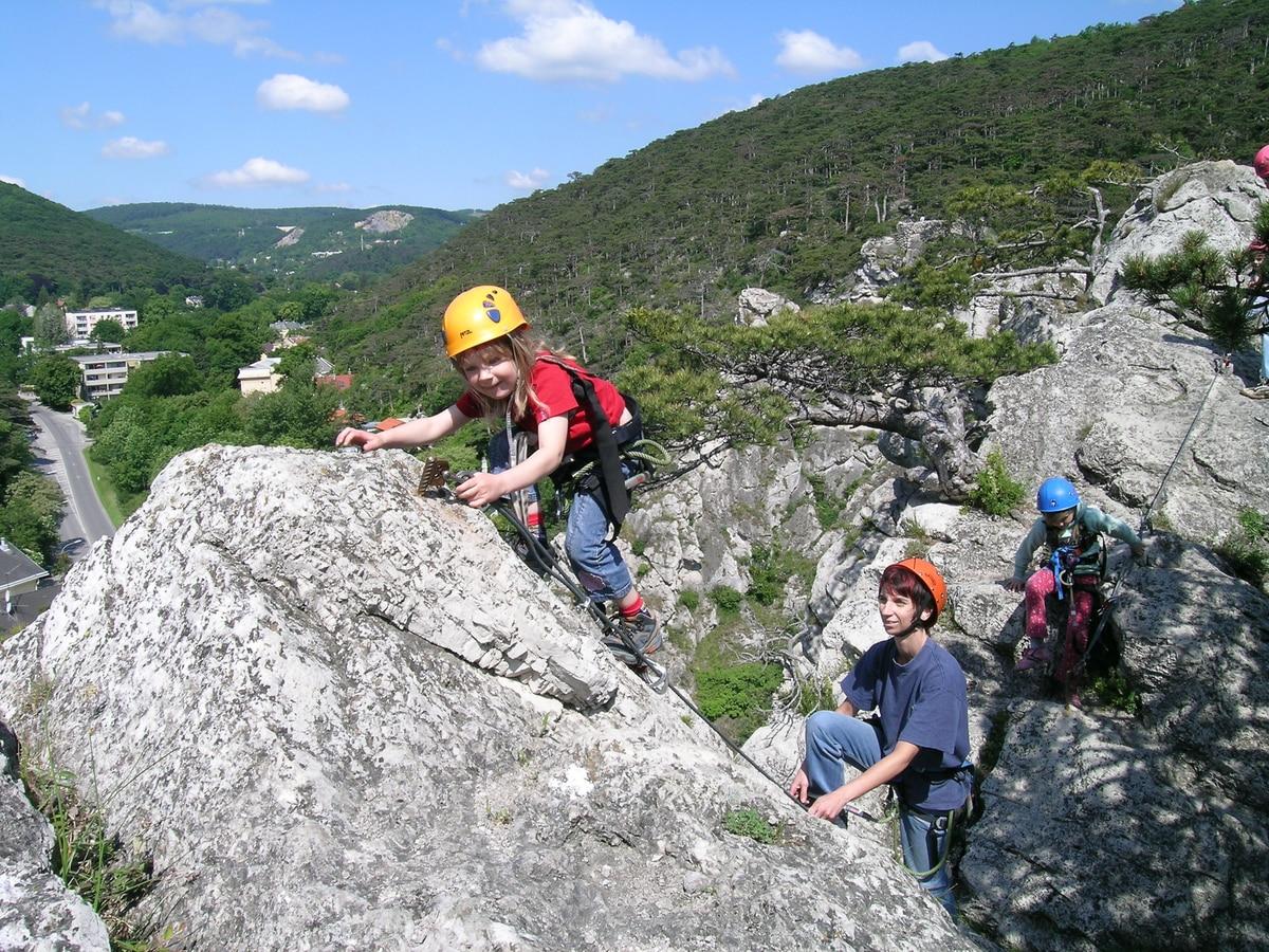 Klettersteig Wien Umgebung : Klettersteige: mödlinger klettersteig 0km bergwelten