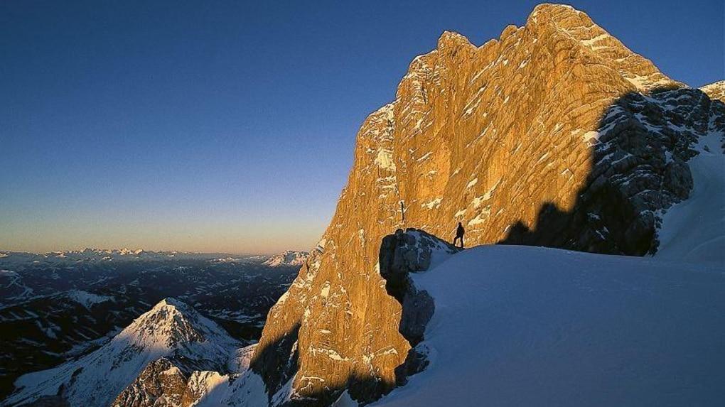 Skitouren Osterreichische National Skitour Am Dachstein Gletscher