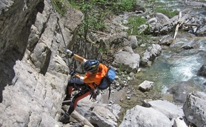 Klettersteige Katrin 2km Bergwelten