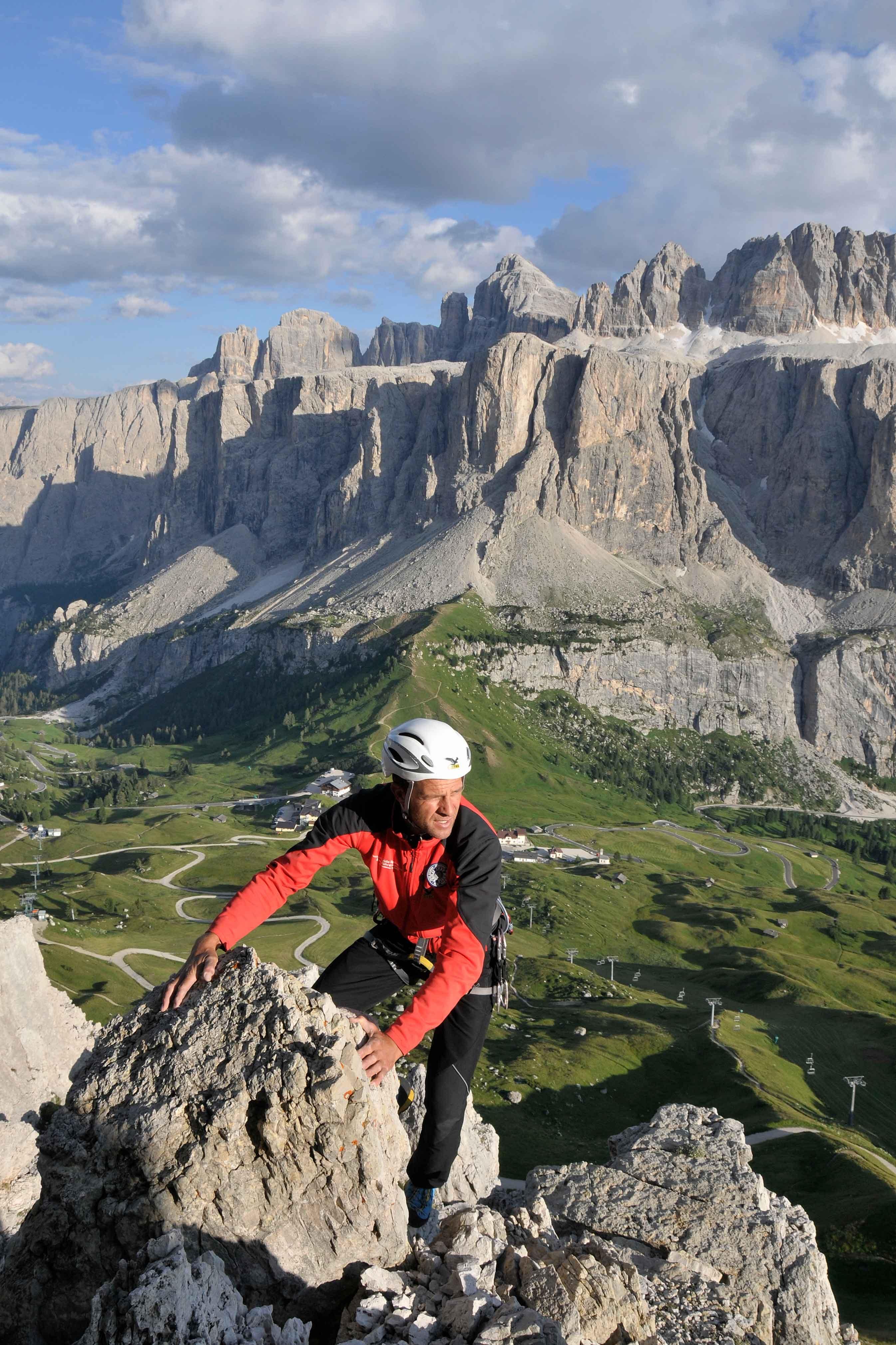 Klettersteig Johann Topo : Klettersteige johann klettersteig km bergwelten