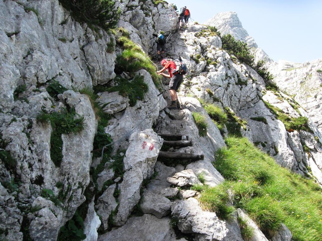 Klettersteig Priel : ▷ wandern: Überschreitung: prielschutzhaus gro bergwelten