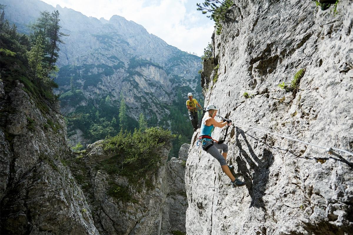 Klettersteig Längenfeld : Klettersteige: jubiläumsklettersteig lehner wasserfall 2km
