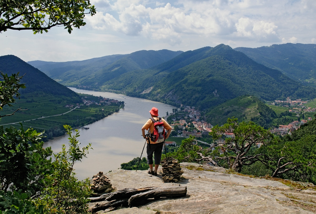 Wachau Karte Donau.Wandern Welterbesteig Wachau Etappe 1 Krem Bergwelten