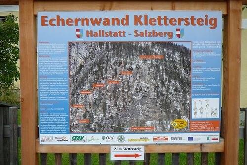 Klettersteig Hallstatt : Klettersteige echernwand km bergwelten