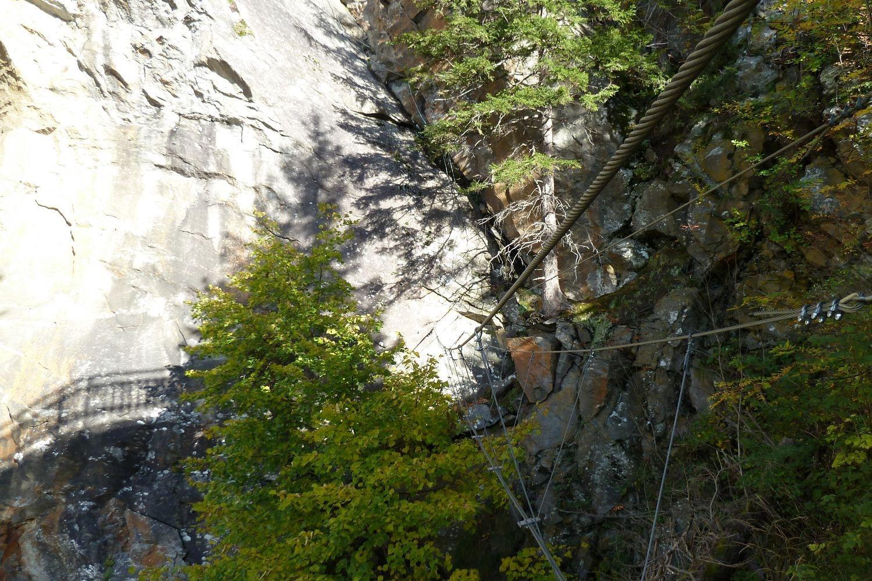 Fallbach Klettersteig Vorarlberg : Klettersteige fallbach klettersteig km bergwelten