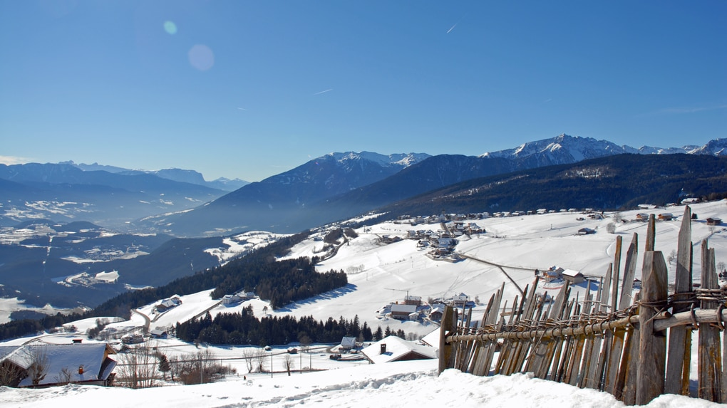 Winterpanorama in Meransen
