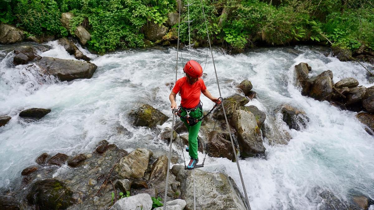 Klettersteig Umhausen : Klettersteige: stuibenfall 5km bergwelten