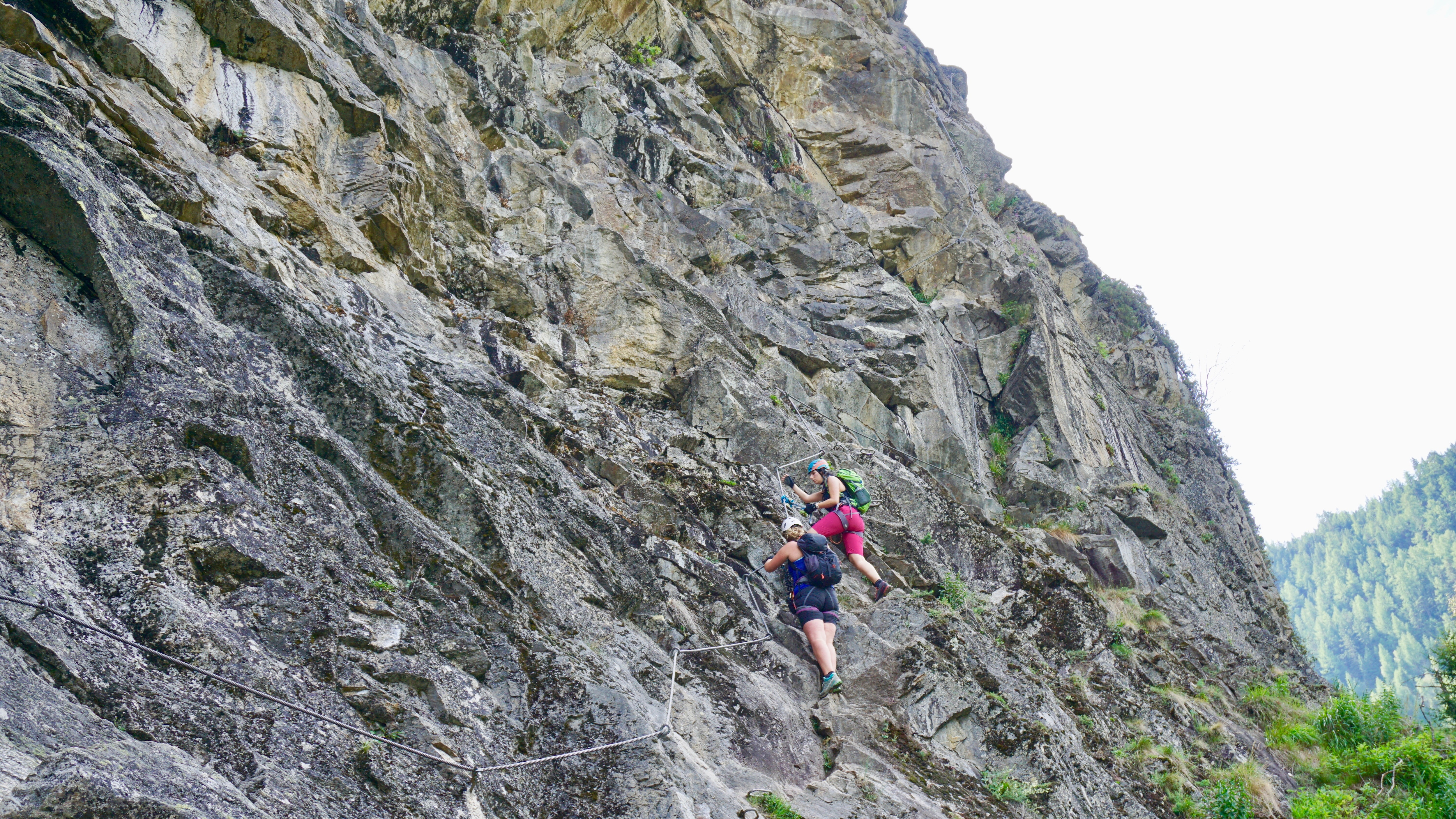 Klettersteig Umhausen : Klettersteige stuibenfall km bergwelten