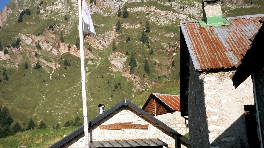 Klettersteig Roen : Klettersteige: via venezia etappe 18 a: vom rifugio pian de
