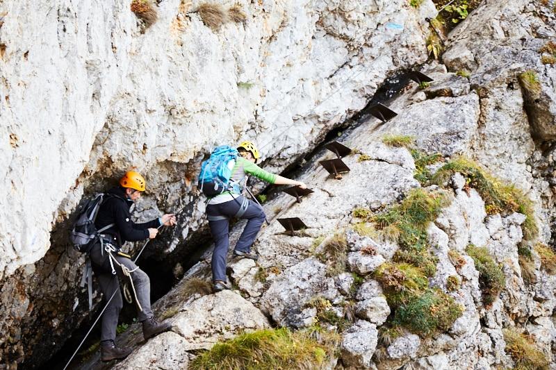 Klettersteig Vogesen : Klettersteige alpenvereinssteig im großen höllental bergwelten