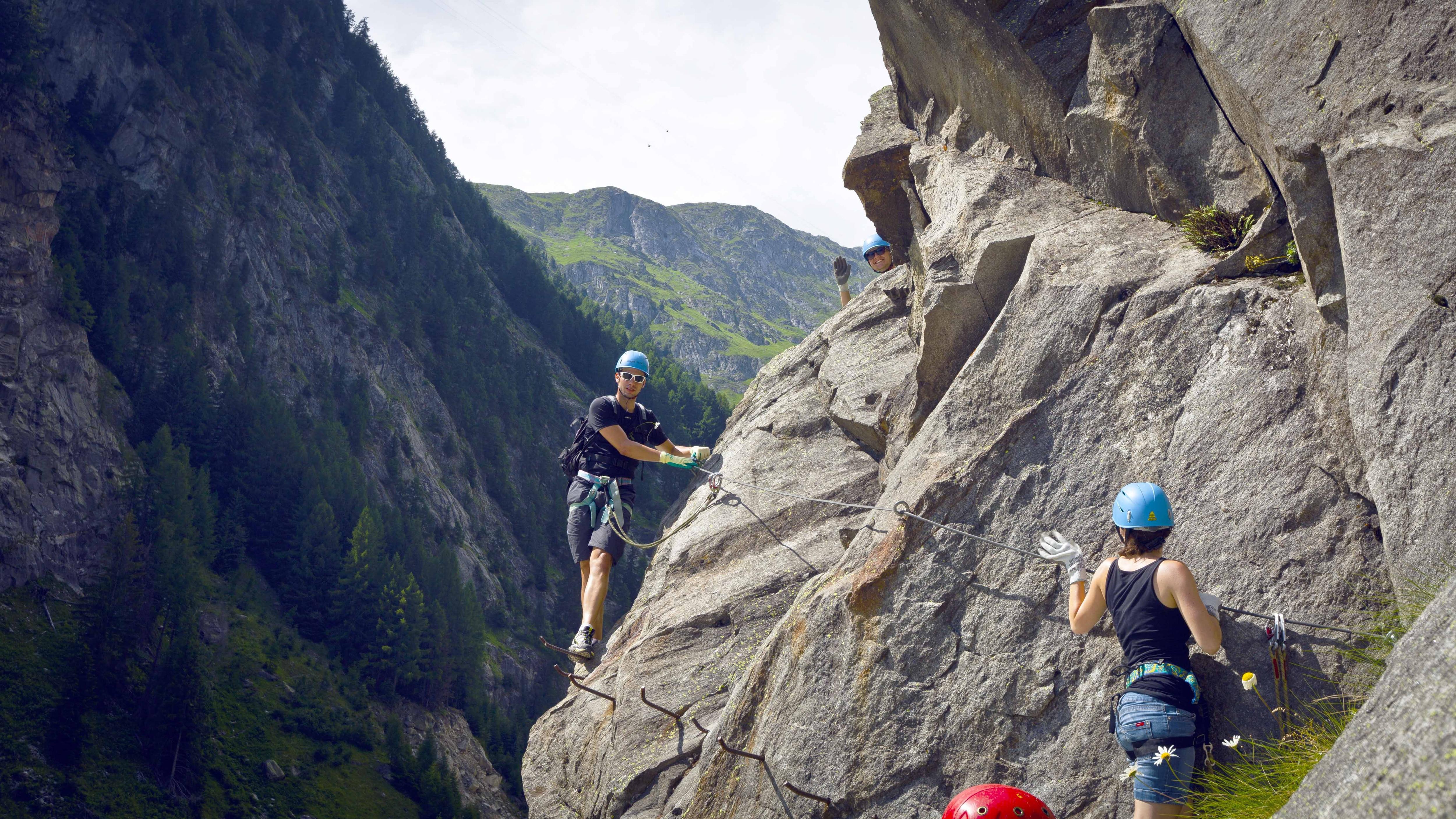 Klettersteig Tessin : Der schönsten klettersteige in Österreich bergwelten