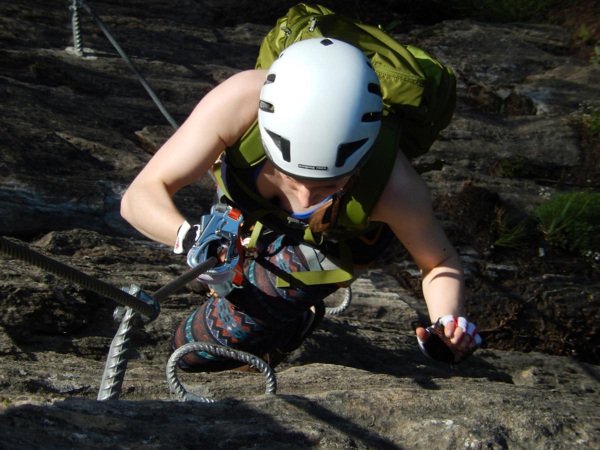 Klettersteigset Verleih Salzburg : Klettersteige: peter kofler klettersteig u2013 stafflacher wand 4km