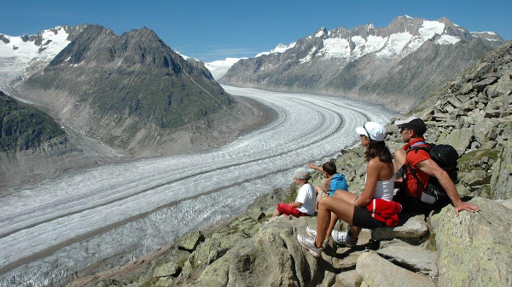 Klettersteig Eggishorn : Klettersteige: klettersteig am eggishorn 1km bergwelten