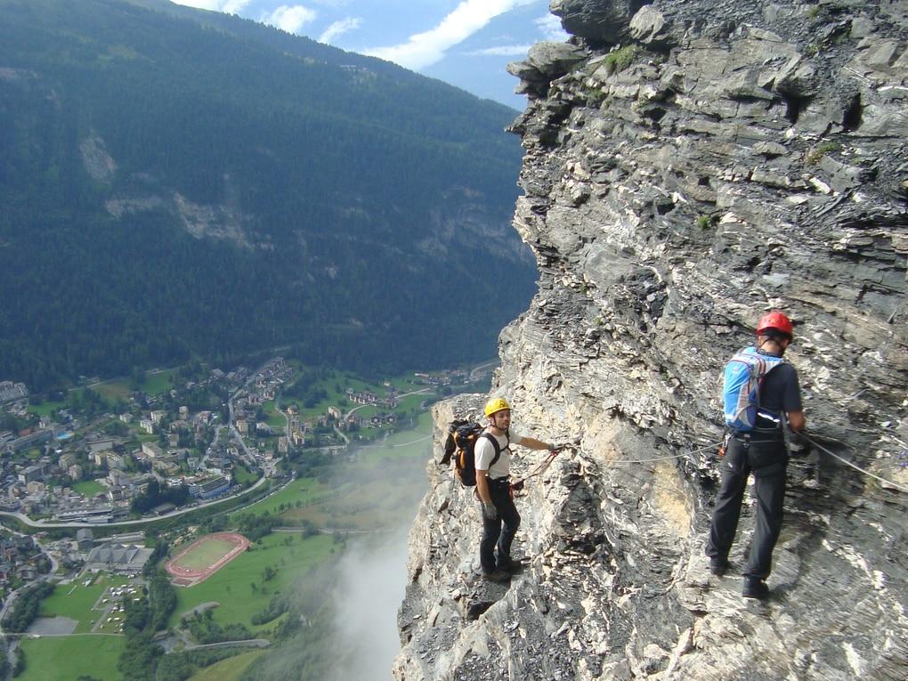 Klettersteig Daubenhorn : Klettersteige: daubenhorn klettersteig bergwelten