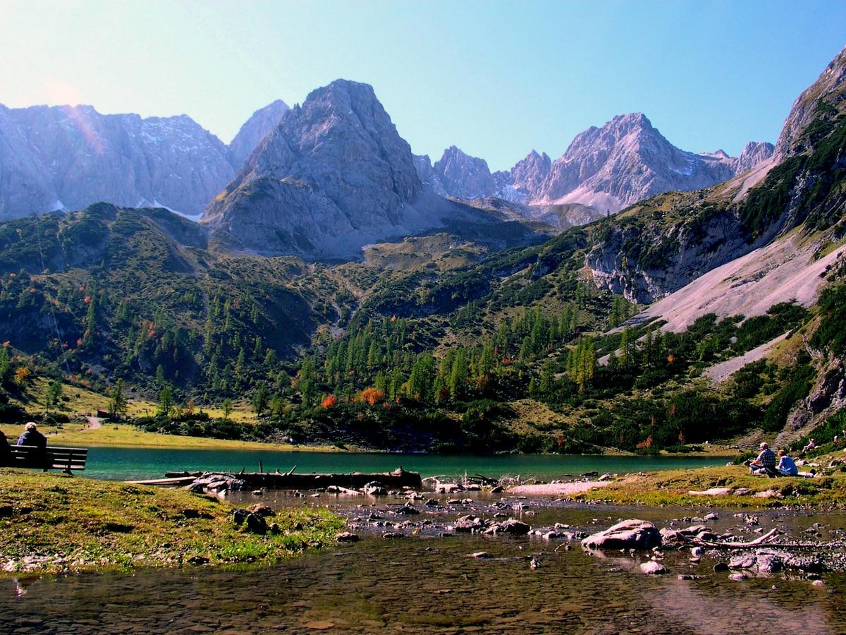 Klettersteig Tajakante : Klettersteige: tiroler zugspitz arena: tajakante klettersteig 1km