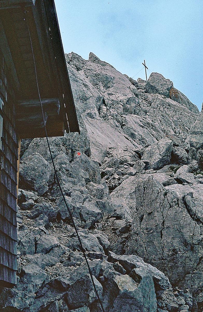 Klettersteig Ellmauer Halt : Klettersteige ellmauer halt km bergwelten